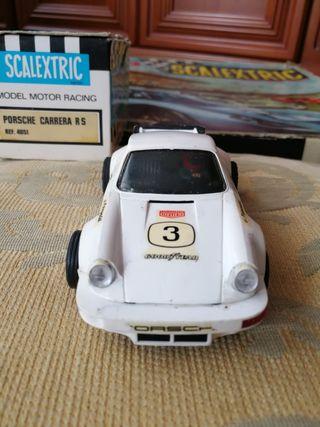 Coche Porsche Carrera RS Scalextric , ref. 4051