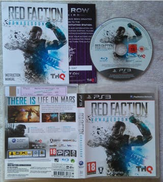 RED FACTION ARMAGEDDON PS3 PLAY3 NUEVO