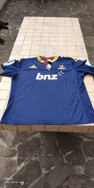 Camiseta Original Adidas Rugby Nueva