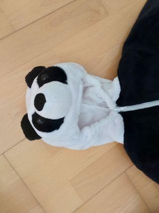 Disfraz panda 6-12 meses