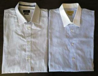 Pack dos camisas Zara talla 42