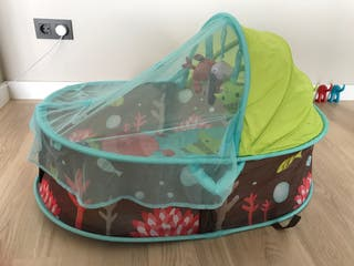 Capazo protector bebé campo, Olaya, piscina