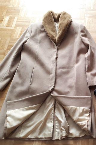 Abrigo de paño talla 50