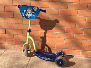 Patinete 3 ruedas niño niña