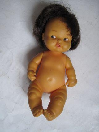 muñeca barriguitas famosa morena pelo muy negro