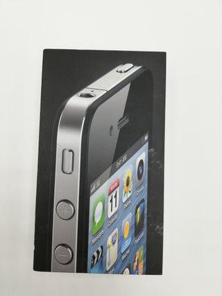 CAJA IPHONE 4 BLACK 8GB