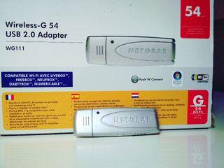 USB captador de Wifi.