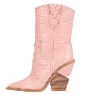 botines cowboy rosa talla 38/39 mujer sin estrenar