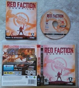RED FACTION GUERRILLA PS3 PLAY3 NUEVO