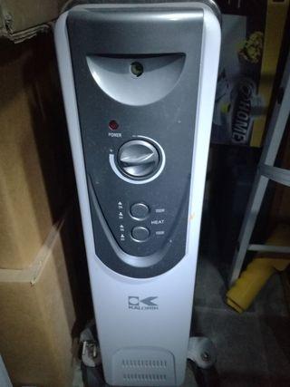 2 radiadores aceite