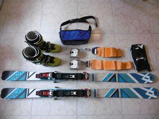 Equipo esquí travesía COMPLETO Volkl Qanik