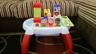 mesa de juegos monobloques