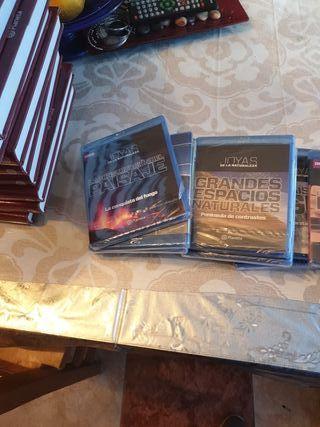 Libros y Cd Blu -ray