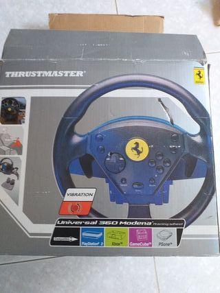 volante jeugos Ferrari ps2 xbox y más...