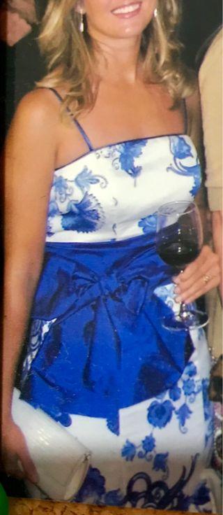 Vestido boda-fiesta-feria-flamenca M. Cano