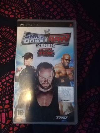 WWE 2008 PSP