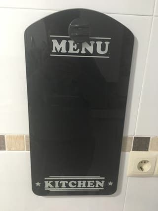 Pizarra de cocina