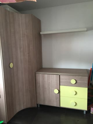 Dormitorio juvenil completo casa ROS