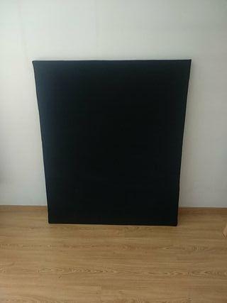 panel forrado de terciopelo