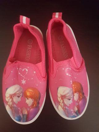 Zapatilla de Elsa