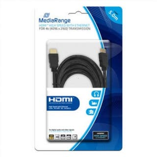0TE7 | Cable hdmi con ethernet mediarange 5mts