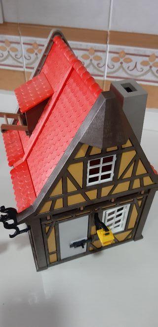 playmobil alfarero alfarería medieval