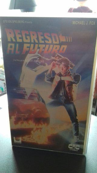 Regreso al Futuro VHS VIDEOCLUB CIC