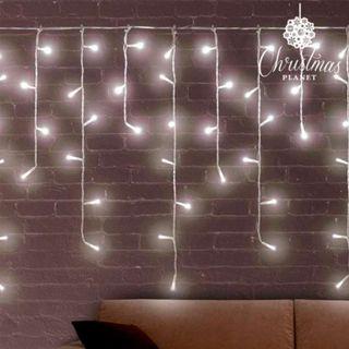 Luces de Navidad Blancas Carámbano Christmas Plane