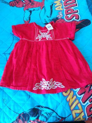 vestido niña talla 3-6 meses