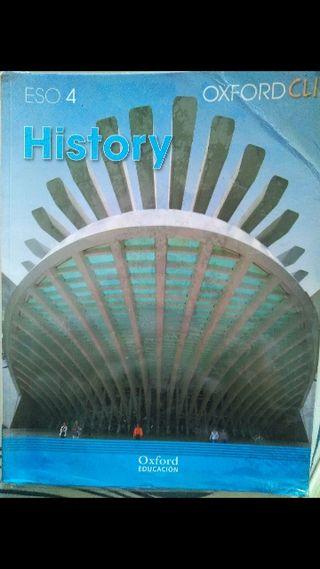 Libro Oxford Clil History 4th ESO