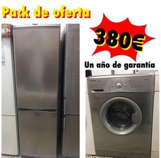 Combi teka + lavadora 6 kg con garantía