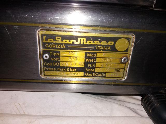 cafetera bar marca lasanmarco