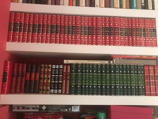Se regalan Colecciones de libros y enciclopedias