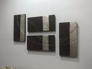 4 cuadros salon
