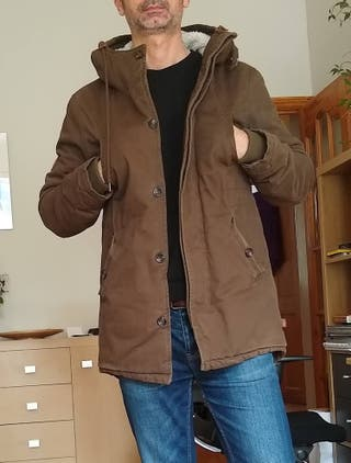 Bellfield Brown Parka Coat