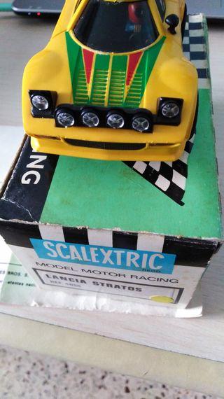 Scalextric exin coche Lancia stratos