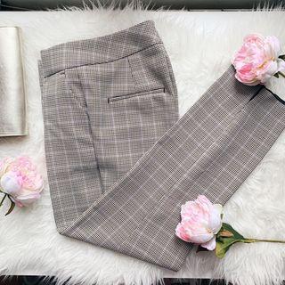 Pantalón de cuadros de Zara