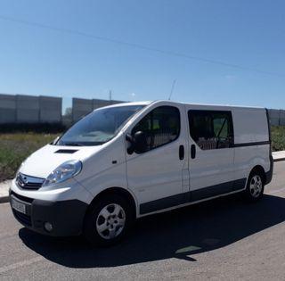 Opel Vivaro 52mil kms 2014 6plazas