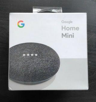 Google Home Mini sin estrenar