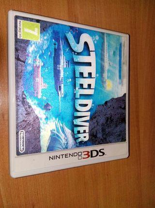 Steel Diver para Nintendo 3DS