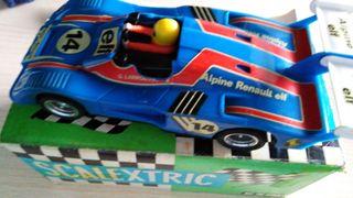 Scalextric exin coche alpine Renault 2000 turbo
