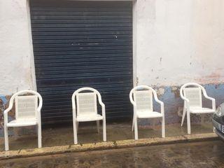 Se alquilan sillas, calle/mayor santa maria
