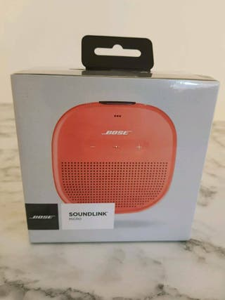 Altavoz Bose Soundlink Micro Naranja