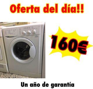 Lavadora Indesit 6 kg con garantía