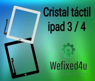Cristal táctil ipad 3 / 4