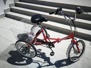 bicicleta eléctrica tres ruedas.