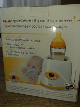 calienta alimentos bebé