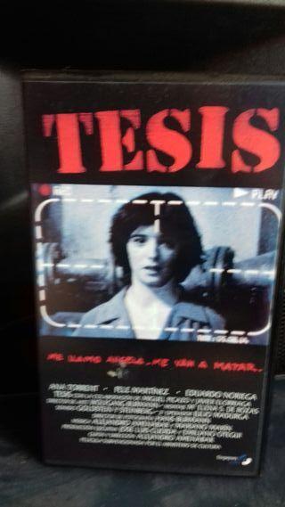 TESIS VHS Alejandro Amenabar