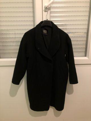 Abrigo negro mujer - Talla M/L