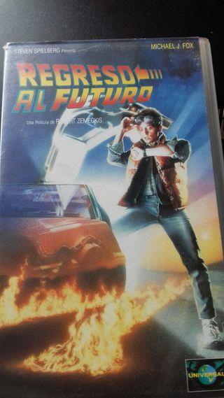 Regreso al Futuro VHS Edición Domestica